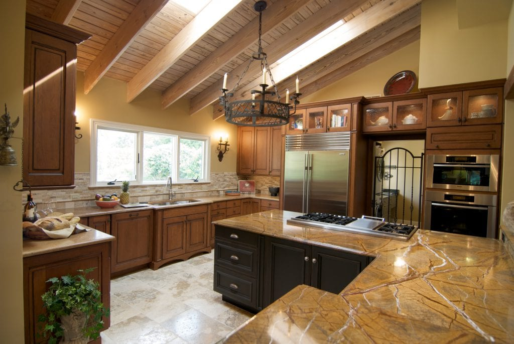 Barbone Kitchen after