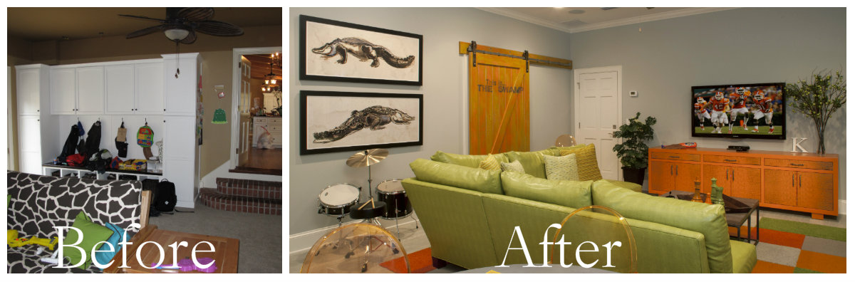 interior reno before and after
