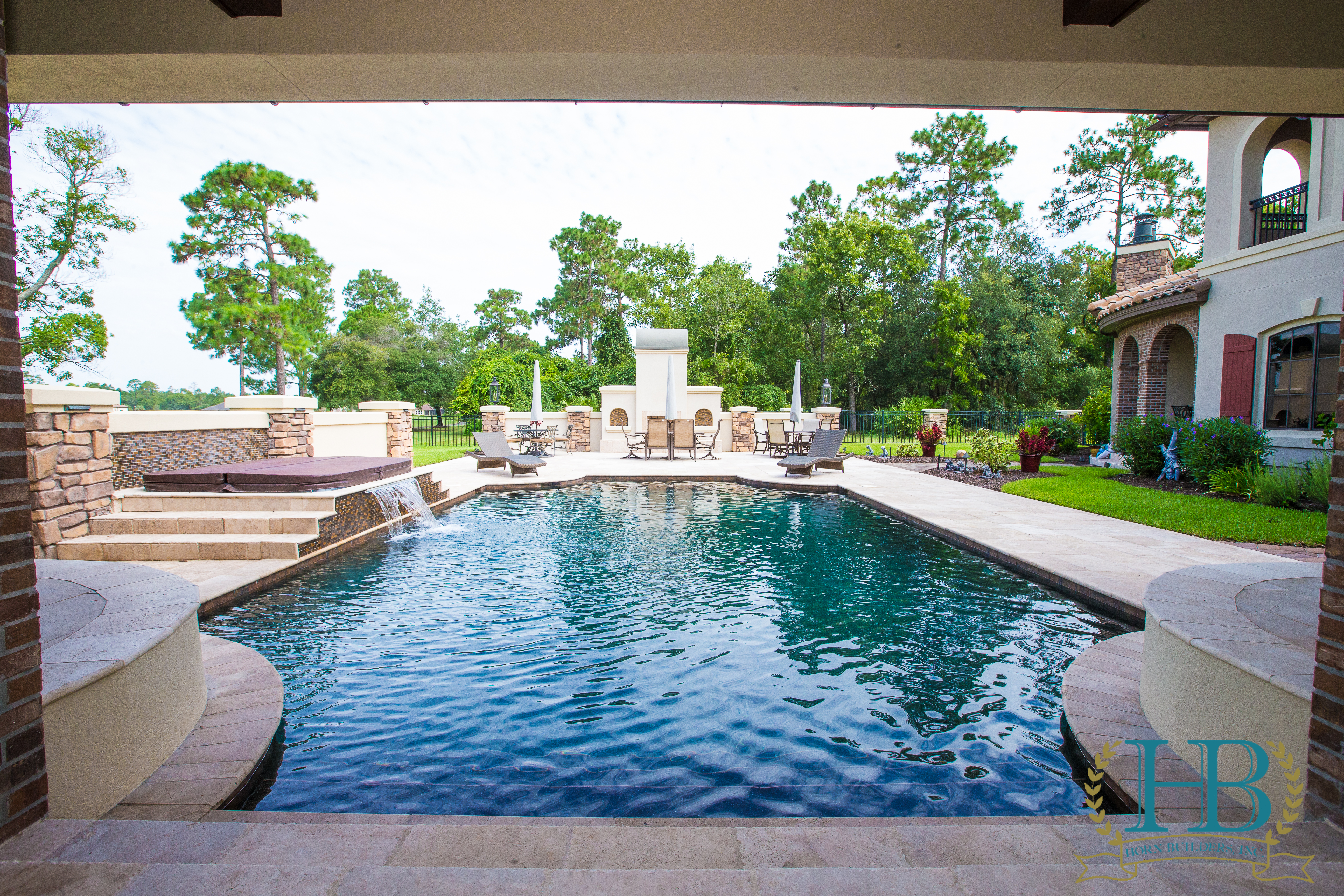 Relaxing By The Pool With A Good Book Our Remodeling And Landscaping Experts Will Leave No Stone Unturned To Take Your Backyard From Plain Paradise
